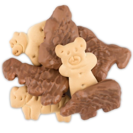 Chocolate Dipped Animal Crackers (100mg thc)