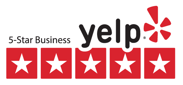 Five Star Yelp rating!